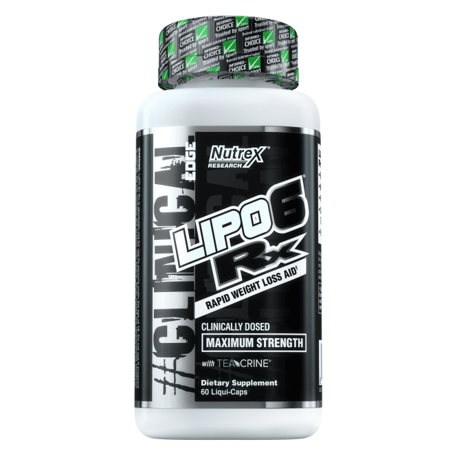 Nutrex Research Lipo-6 RX 60 Caps