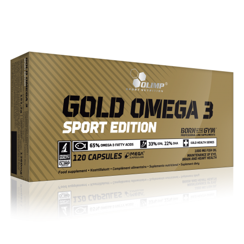 Olimp Gold Omega-3 Sport Edition 120 Caps