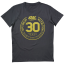 30 Year T-Shirt Black/Gold
