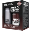 Optimum Nutrition Amino Energy 30 Serv + Ice Core Water Bottle 650ml