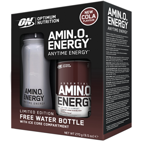 Optimum Nutrition Amino Energy + Ice Core Water Bottle 650Ml 30 Servings