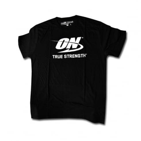 Optimum Nutrition On True Strength T-Shirt Black