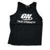 Optimum Nutrition On True Strength Tank Top Black