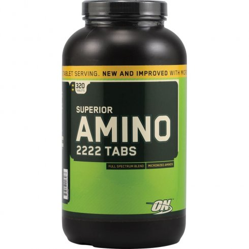 Optimum Nutrition Superior Amino 2222 320 Ct