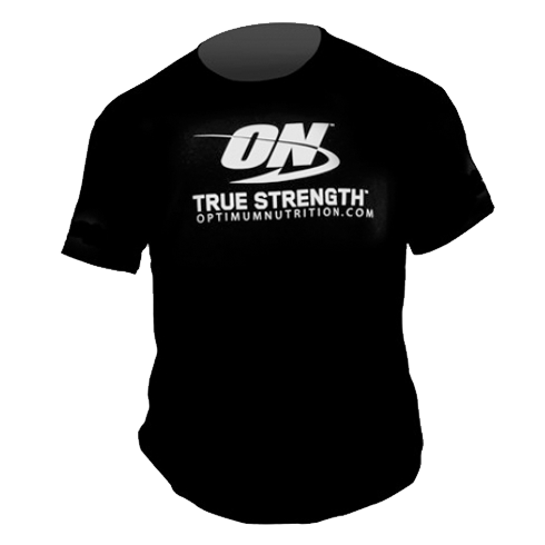 Optimum Nutrition T-Shirt - True Strength Black