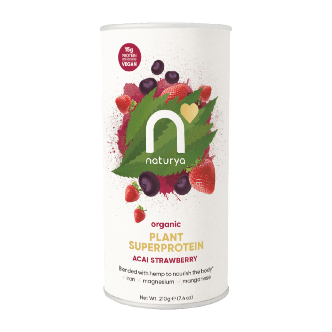 Naturya Organic Plant Superprotein 210g (SHORT DATED)