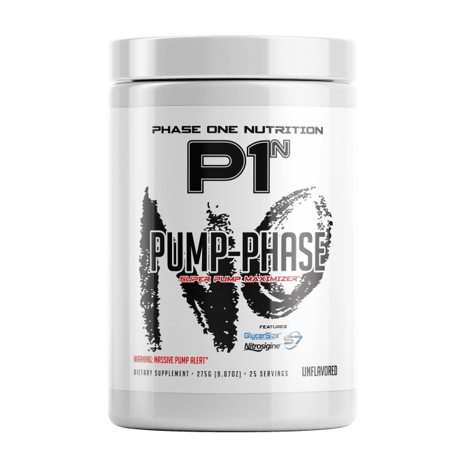 Phase One Nutrition Pump Phase 25 Servings