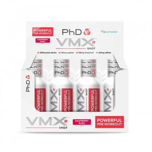 PHD Vmx2 12 x 60ml Shot