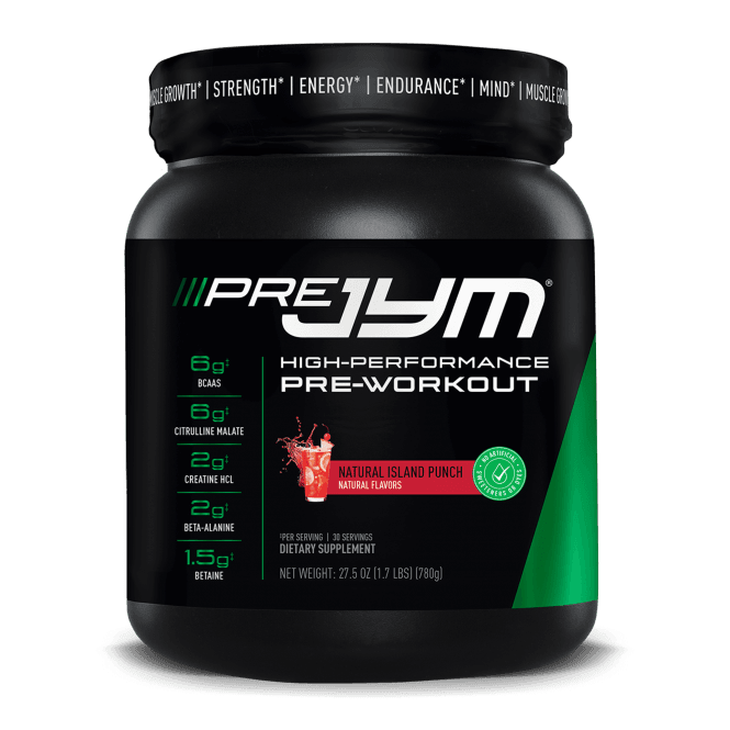JYM Pre Natural 30 Serving