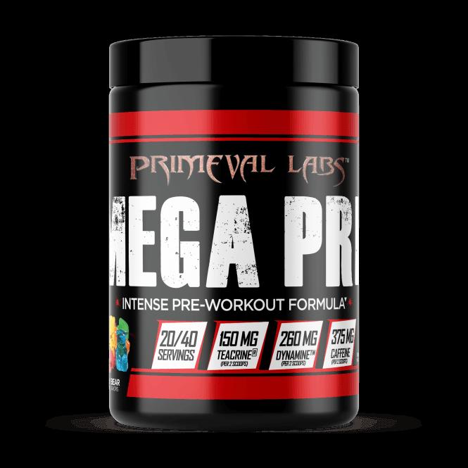 Primeval Labs Mega Pre Black 350g (SHORT DATED)