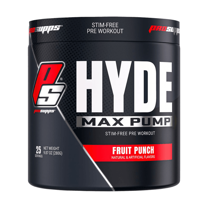 Prosupps Hyde Max Pump 25 Servings