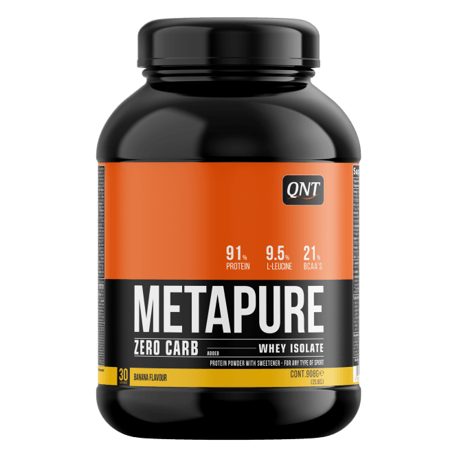 QNT Sports Metapure ZERO Carb 908g