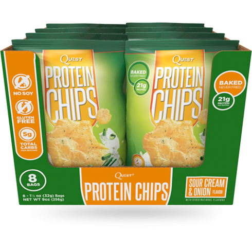 Quest Chips 8X32g