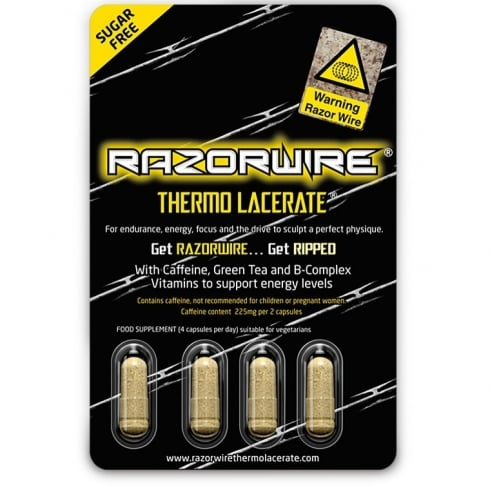 Razorwire Thermo Lacerate 4 Caps