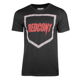 Redcon1 Shield Logo Shirt Black/Red/White