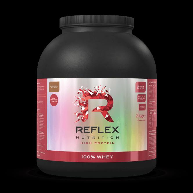 Reflex Nutrition 100% Whey 875G (SHORT DATED)