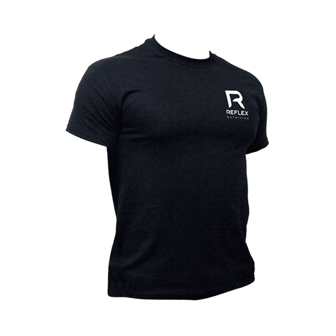 Reflex Nutrition Gym T-Shirt Black