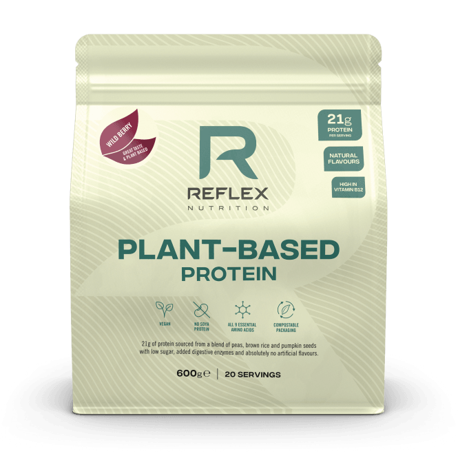 Reflex Nutrition Plant Based Protein 600g (SHORT DATED)