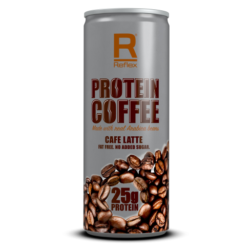 Reflex Nutrition Protein Coffee (12 X 250ml Cans) (SHORT DATED)