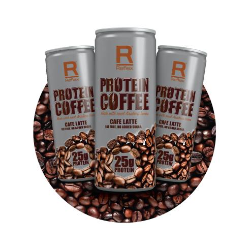 Reflex Nutrition Protein Coffee Shelf Talker 13cm