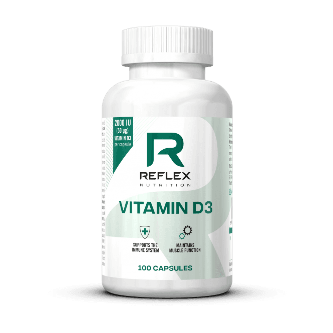 Reflex Nutrition Vitamin D3 100 Caps