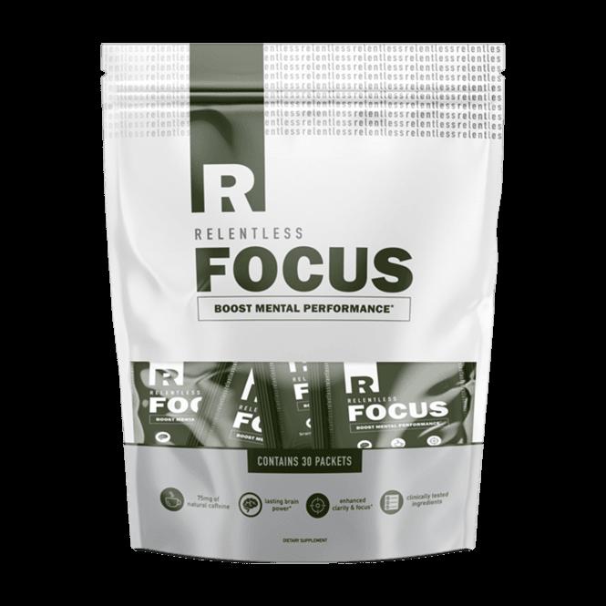 Relentless FOCUS 30 x 1 Serving Packets (SHORT DATED)