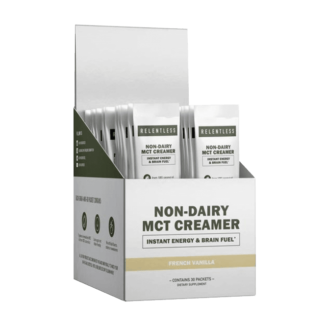 Relentless Non-Dairy MCT Creamer 30 x 1 Serving Packets