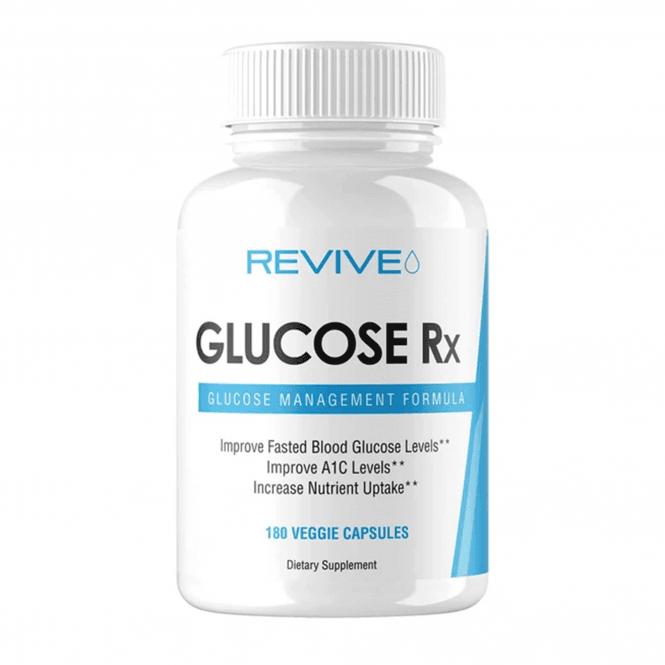 Revive MD Glucose Rx 180 Veggie Caps