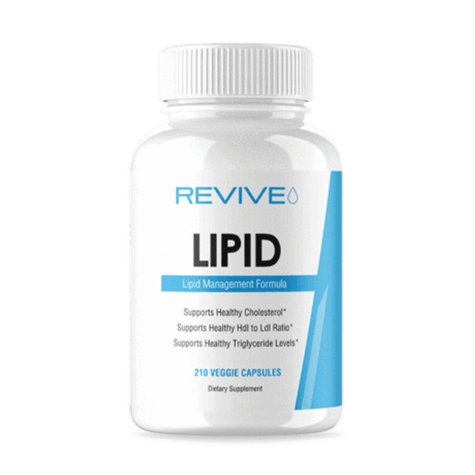 Revive MD Lipid 210 Veggie Capsules