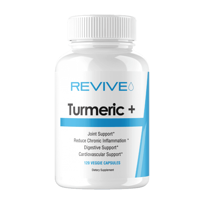 Revive MD Turmeric+ 120 Veggie Caps