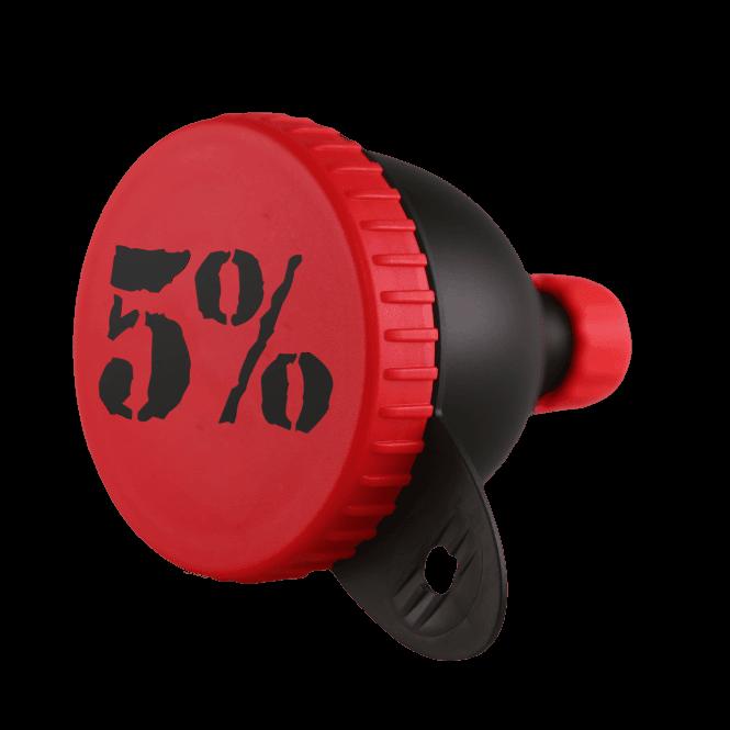 Rich Piana 5% Nutrition 5% Logo Funnel One Size