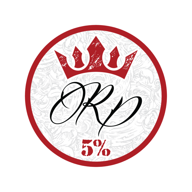 Rich Piana 5% Nutrition 5% White Crown Decal Limited Edition One Size