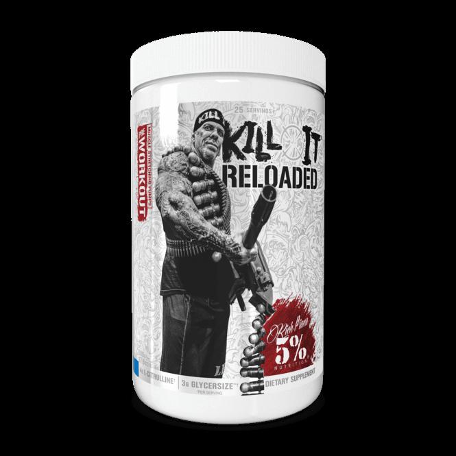 Rich Piana 5% Nutrition Kill It Reloaded Legendary Series 30 Servings