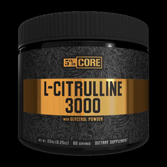 Rich Piana 5% Nutrition L-Citrulline 3000 60 Servings