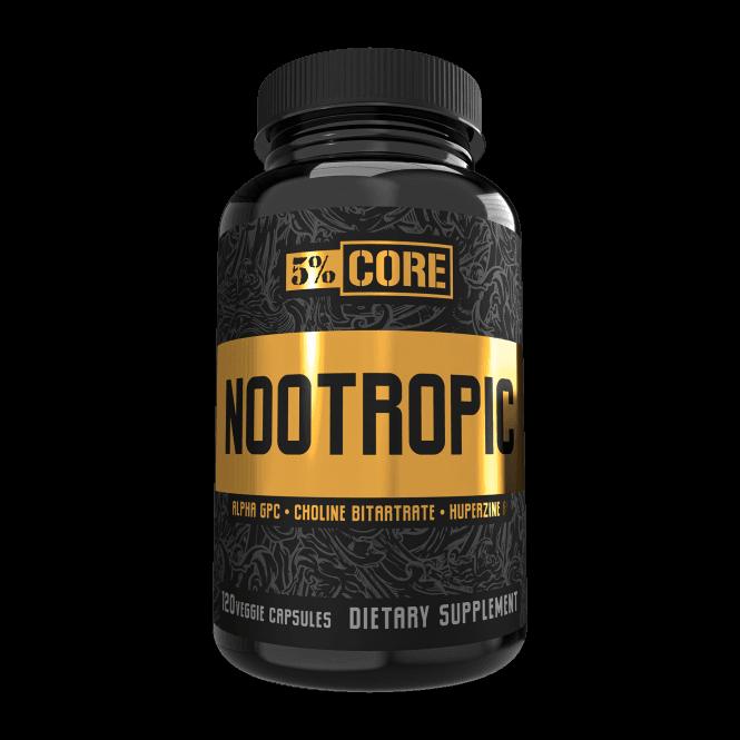 Rich Piana 5% Nutrition Nootropic 120 Caps
