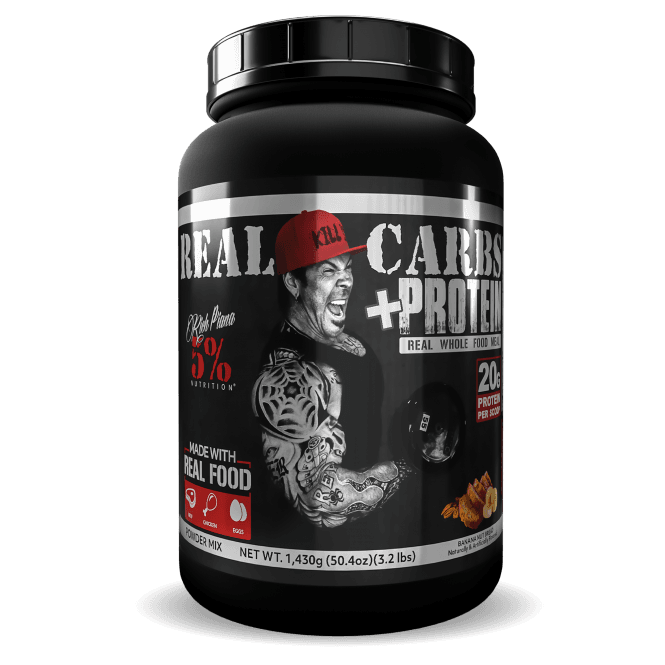 Rich Piana 5% Nutrition Real Carbs + Protein 1.43kg