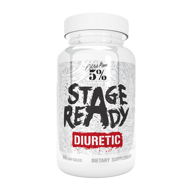 Rich Piana 5% Nutrition Stage Ready Diuretic 60 Caps