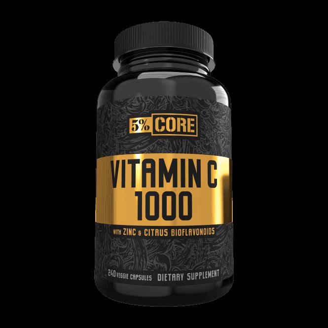 Rich Piana 5% Nutrition Vitamin C 1000 240 Caps