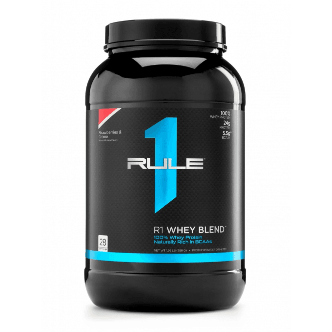 Rule 1 Proteins R1 Whey Blend 896g (SHORT DATED)