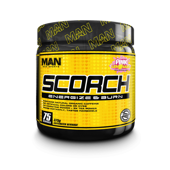 Man Sports Nutrition Scorch Powder 375g (SHORT DATED)