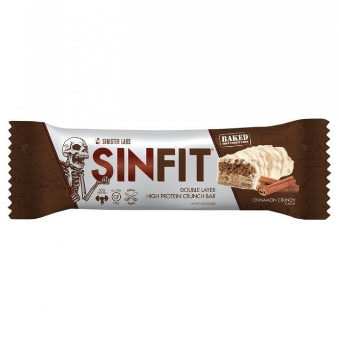 Sinister Labs Sinfit Protein Bar 12 X 83G (SHORT DATED)