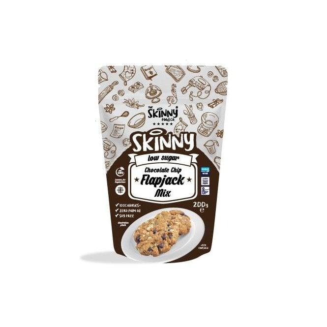 Skinny Food Co Low Calorie Chocolate Chip Flapjack Mix 200g (9 Flapjacks)