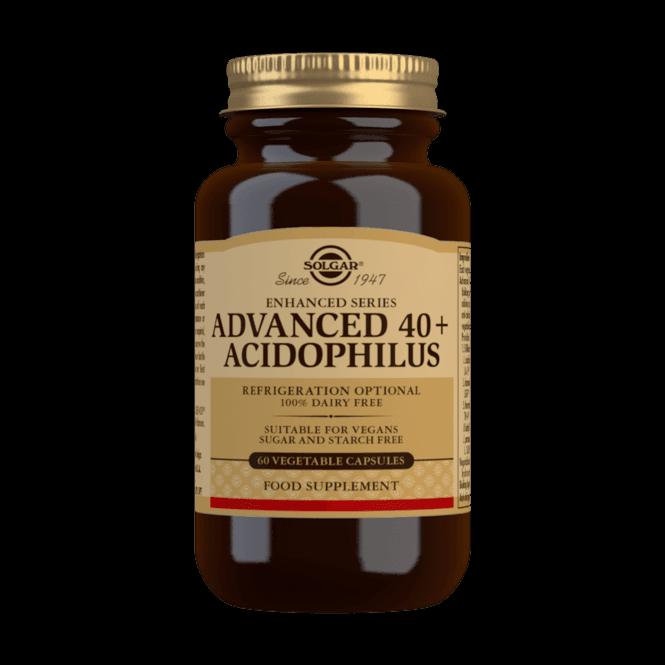 Solgar Advanced 40+ Acidophilus 60 Caps (SHORT DATED)