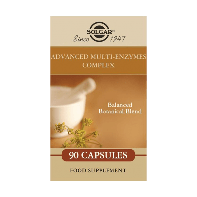 Solgar Advanced Multi-Enzymes Complex 90 Caps