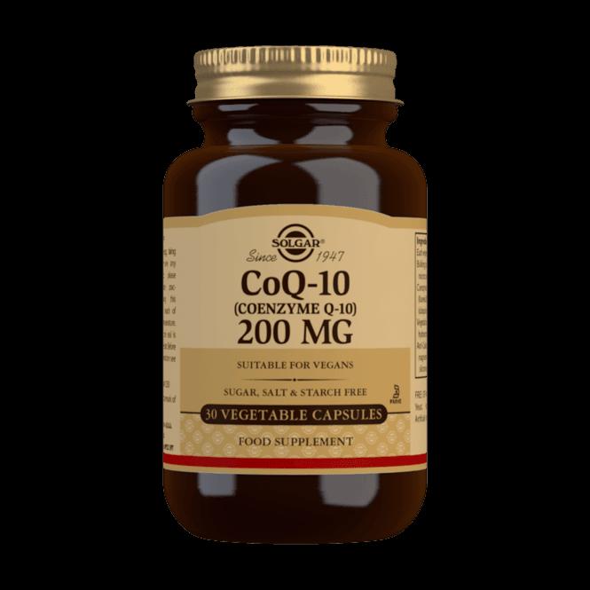 Solgar CoQ-10 200mg 30 Caps