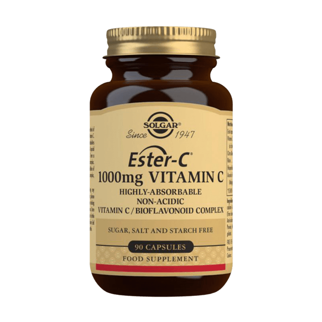 Solgar Ester-C® 1000 mg Vitamin C 90 Caps