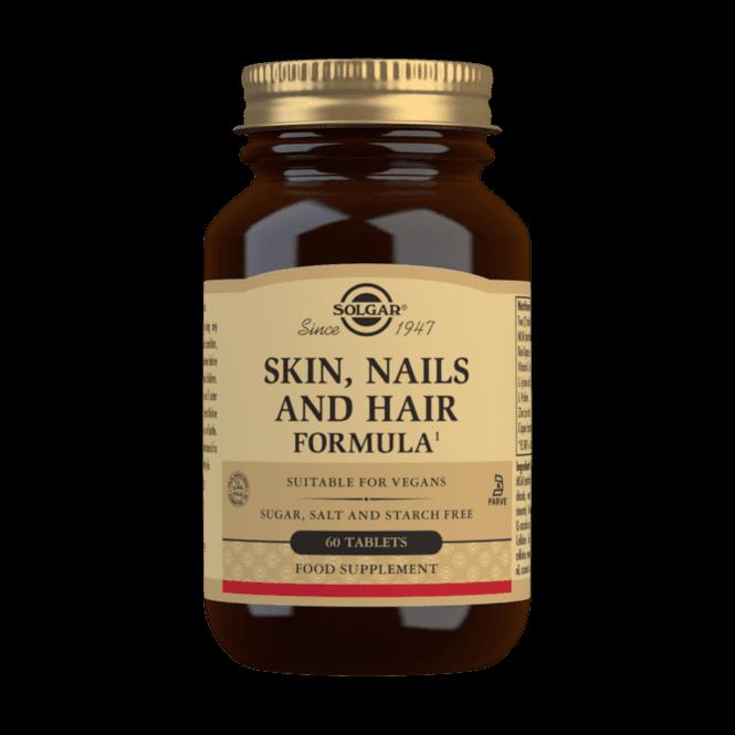 Solgar Skin, Nails and Hair Formula 60 Tablets