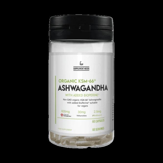 Supplement Needs Ashwagandha KSM-66 60 Caps