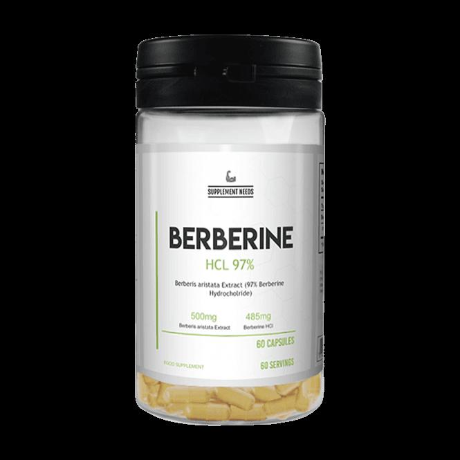Supplement Needs Berberine HCL 60 Capsules