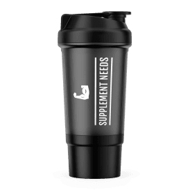 Supplement Needs Compartment Shaker 600ml